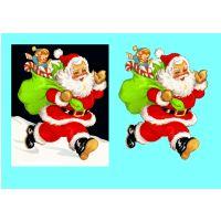 Santa Claus Decoupage