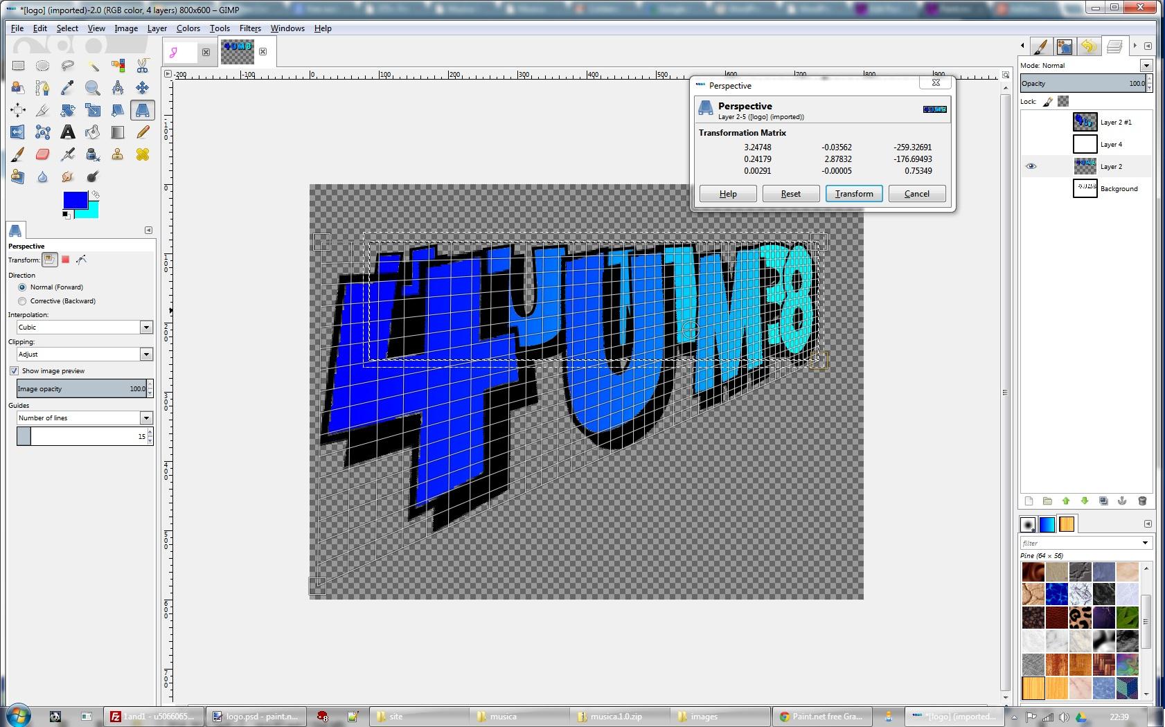 Gimp 2 Image Editing Software