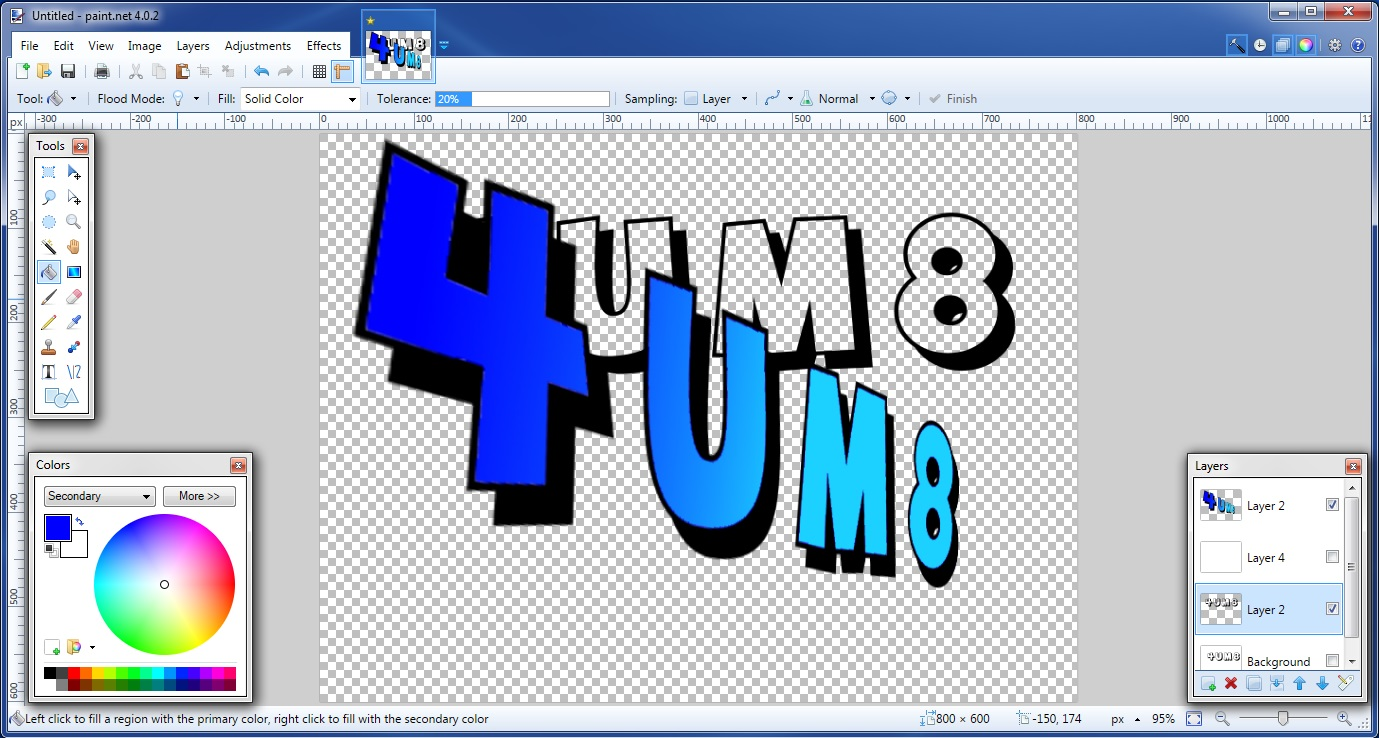 Free graphics program Paint software online
