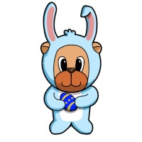 Easter Rabbit Craft Papers