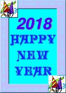 New Year Card Kit 2018.