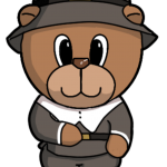 Male Pilgrim Bear