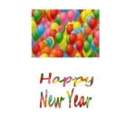 New Year Craft Papers