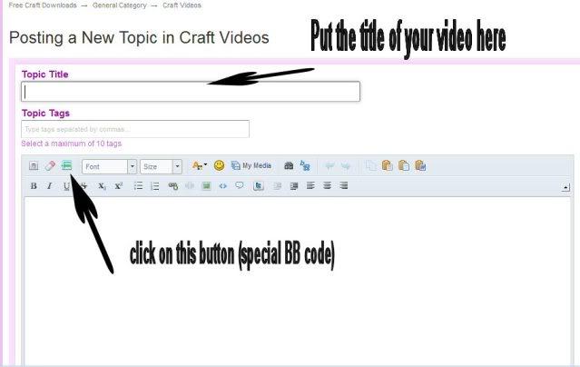 Posting Video 1