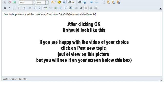 Posting Video 5