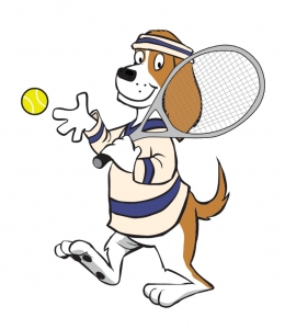 Free Tennis Themed transparent PNG.
