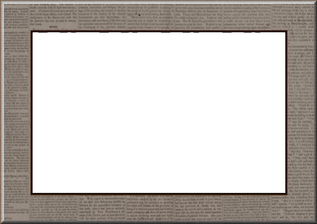 newspaper card frame