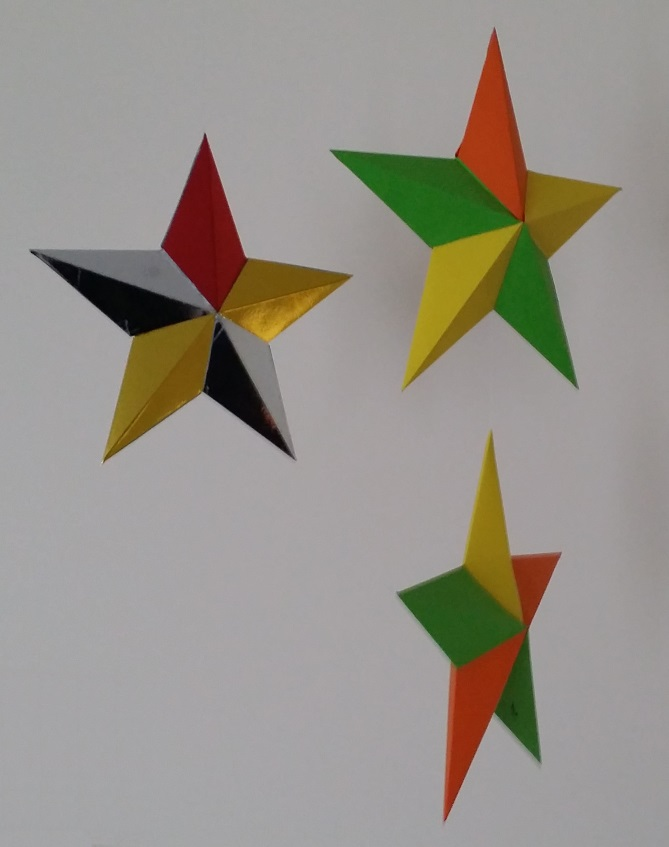 3d christmas star project free craft downloads for Christmas star craft ideas
