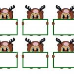 Rudolf Bear Tags
