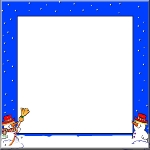 Free Christmas Card Border to download and print.