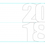 New Year Card Template.