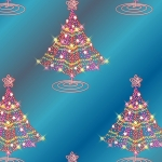 Free Christmas Tree Card Making Paper to download and print.