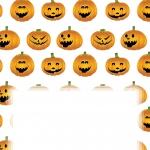 Insert sheet with Pumpkin Design.