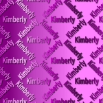 Kimberly Name Paper.