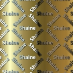 Shaine Name Paper.