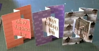 Fathers Day Swivel Card