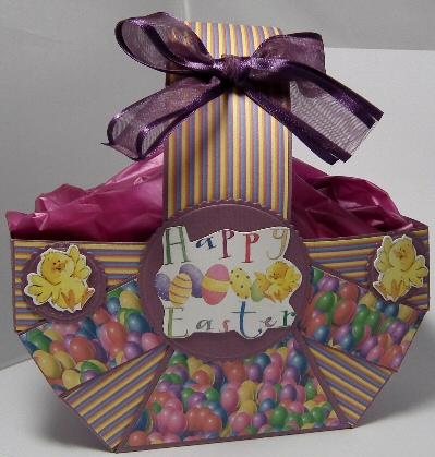 Finished Easter Basket