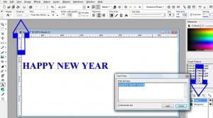 using text in Paintshop Pro