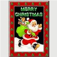 Father Christmas Card Kit to Download