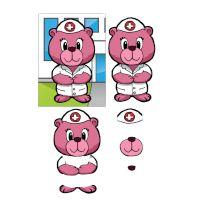 Craftville Bear Nurse Decoupage Sheet to Download