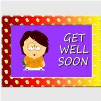 Get Well Soon Card for a Teenager.