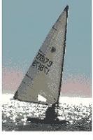 Sailing Boat Cross Stitch