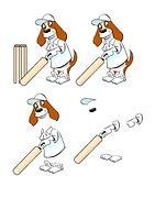 Brewster Cricket Decoupage