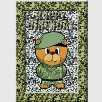Army Bear Card Kit