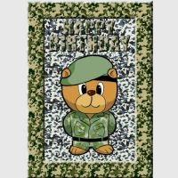 Army Bear Card Kit
