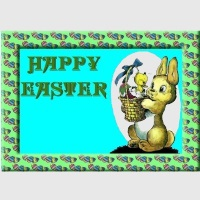 Free Easter Card Mini Kit