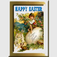 Traditional Easter Card