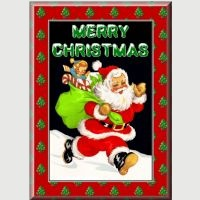 Free Father Christmas Card Kit