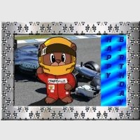 Racing Driver Card Kit