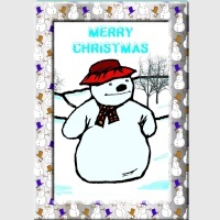 Teen Christmas Card Kit