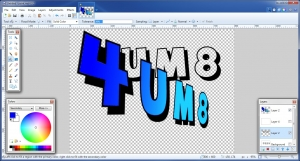 Free graphics program Paint.net
