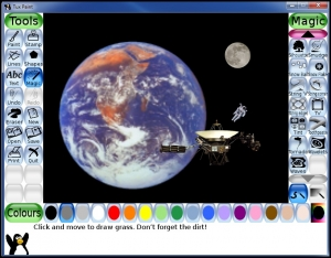 Graphics program for children