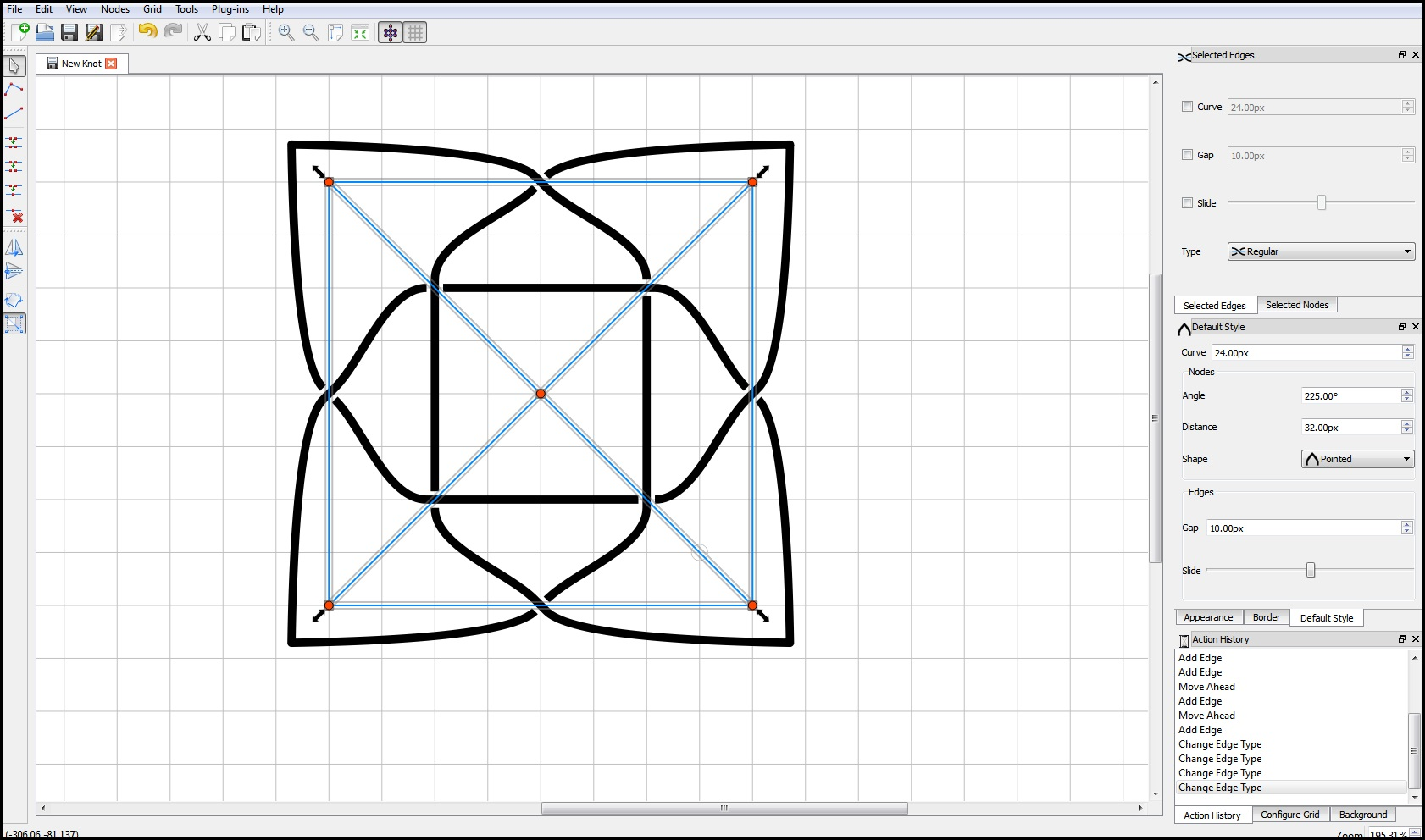 Free Celtic Knot Creator and Designer.