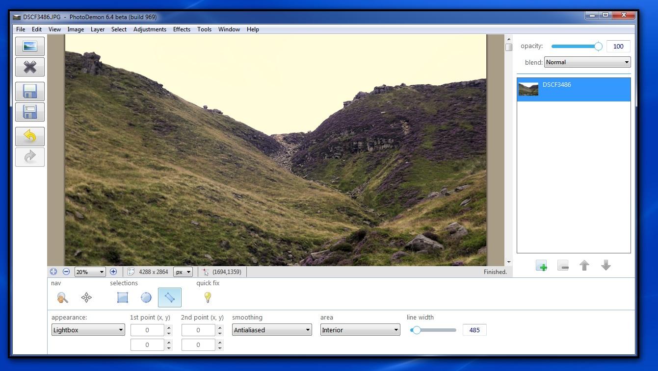 PhotoDemon a Free Photo Editor.