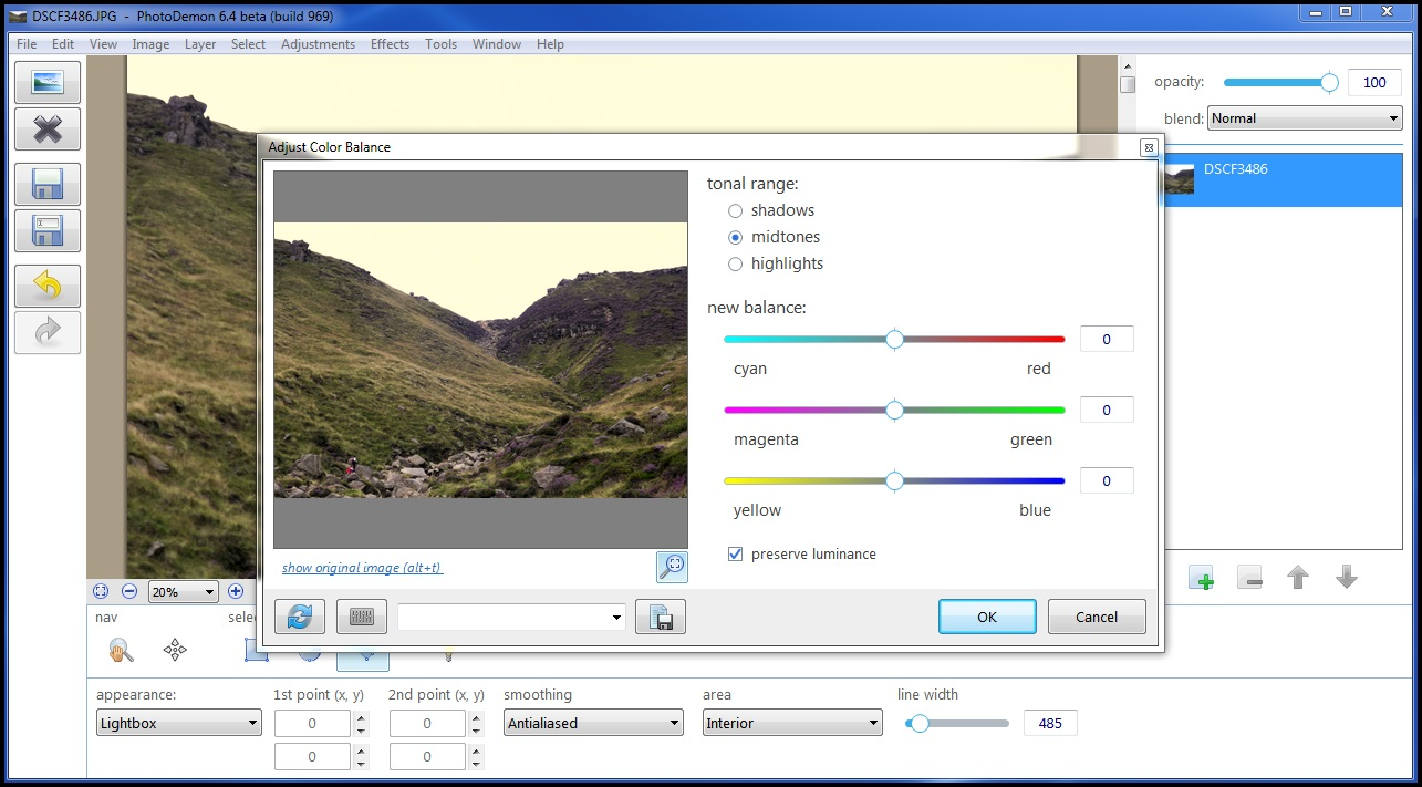 PhotoDemon a Free Photo Editor