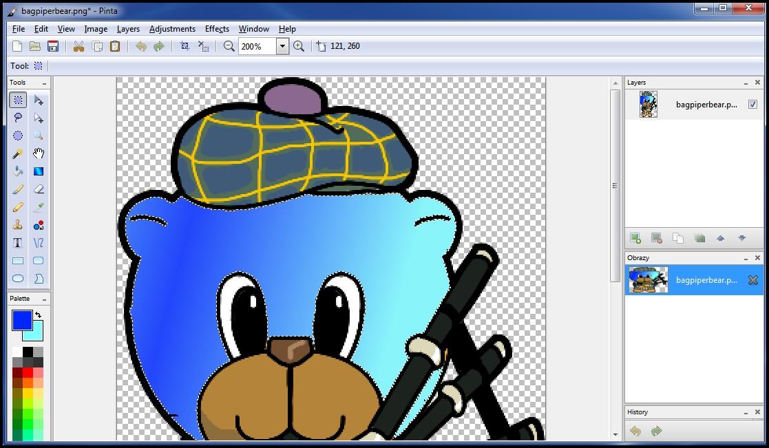 Pinta Drawing and Editing Program