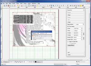 Scribus Free Desktop Publishing.