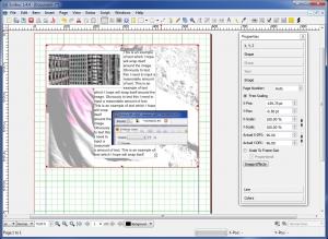 Scribus Free Desktop Publishing.