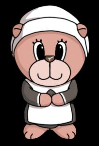Female Pilgrim Bear