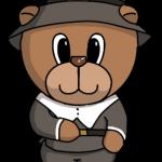 Male Pilgrim Bear