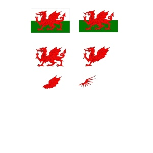 St Davids Day Downloads for paper crafts.