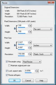 Image Sizes, File sizes and DPI