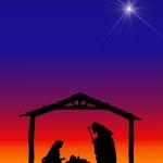 Christmas- Silhouettes Nativity