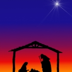 Christmas- Silhouettes Nativity