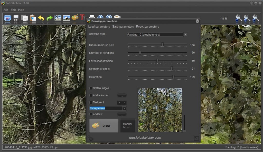 New Version of FotoSketcher