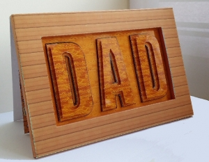 Fathers Day Card Project.